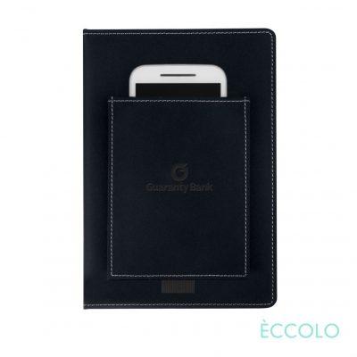 """Eccolo® Austin Journal - (M) 6""""x8"""" Black"""