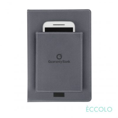 "Eccolo® Austin Journal - (M) 6""x8"" Gray"