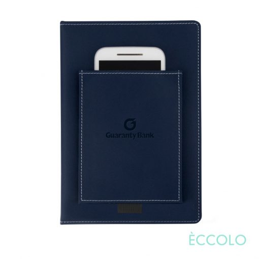 "Eccolo® Austin Journal - (M) 6""x8"" Navy Blue"