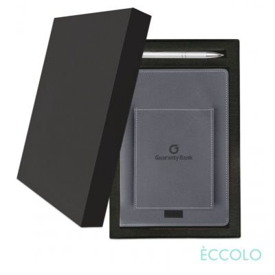 Eccolo® Austin Journal/Clicker Pen Gift Set - (M) Gray