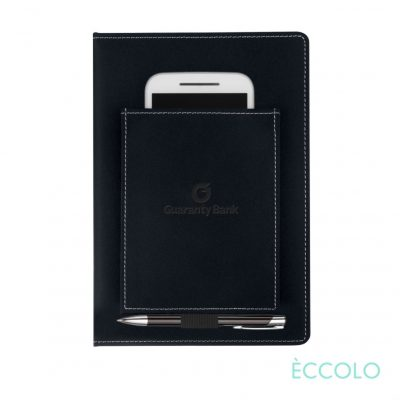 Eccolo® Austin Journal/Clicker Pen - (M) Black