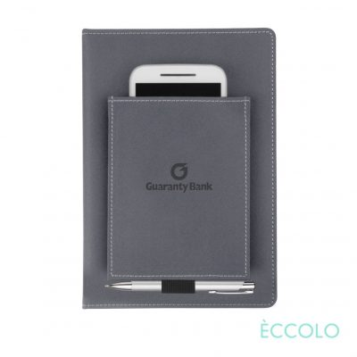 Eccolo® Austin Journal/Clicker Pen - (M) Gray