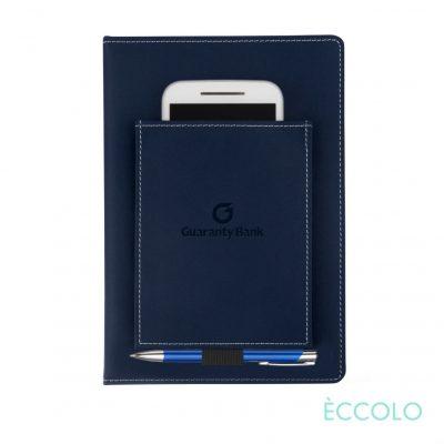 Eccolo® Austin Journal/Clicker Pen - (M) Navy Blue