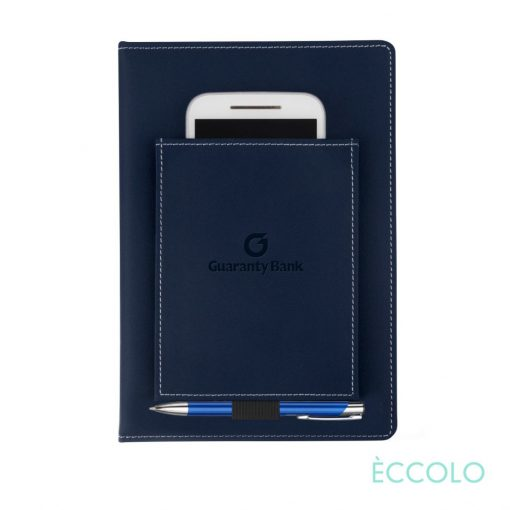 Eccolo® Austin Journal/Clicker Pen - (M) Navy Blue