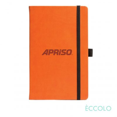 "Eccolo® Calypso Journal - (M) 5½""x8½"" Orange"