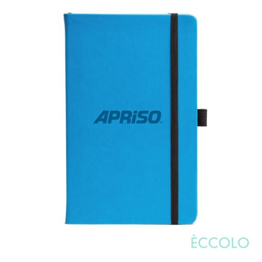 "Eccolo® Calypso Journal - (M) 5½""x8½"" Teal Blue"