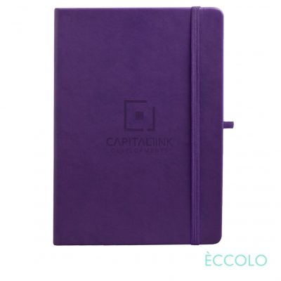 "Eccolo® Cool Journal - (L) 7""x9¾"" Purple"