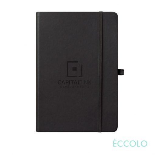 "Eccolo® Cool Journal - (M) 5¾""x8¼"" Black"