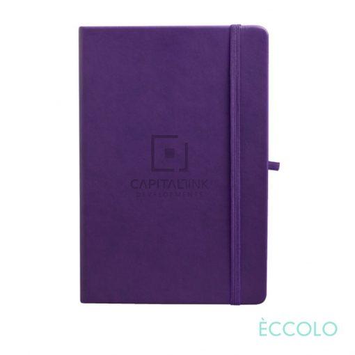 "Eccolo® Cool Journal - (M) 5¾""x8¼"" Purple"