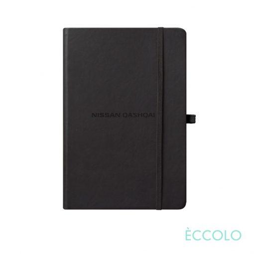"Eccolo® Cool Journal - (S) 3½""x5½"" Black"