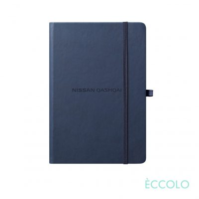 "Eccolo® Cool Journal - (S) 3½""x5½"" Navy Blue"
