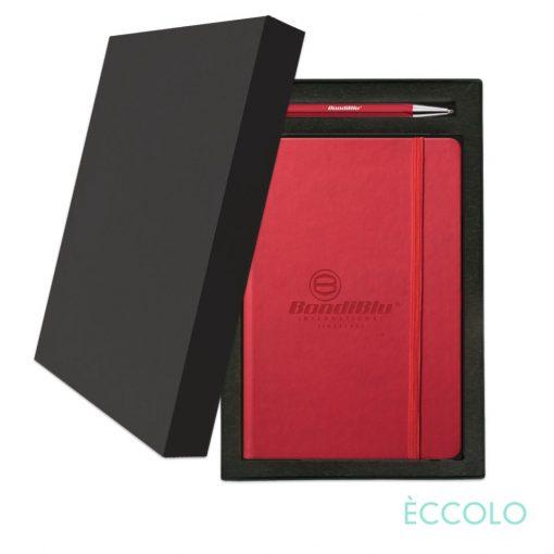 Eccolo® Cool Journal/Atlas Pen/Stylus Pen Gift Set - (M) Red