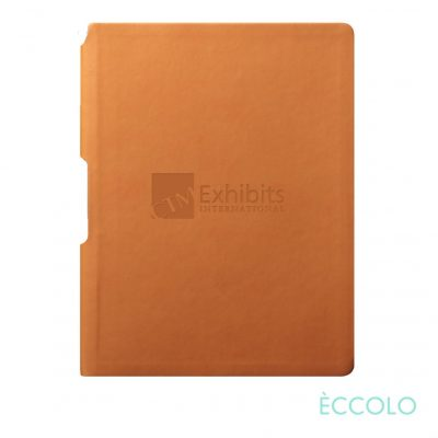 "Eccolo® Groove Journal - (M) 5¾""x8¼"" Orange"