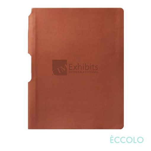 "Eccolo® Groove Journal - (M) 5¾""x8¼"" Terracotta"