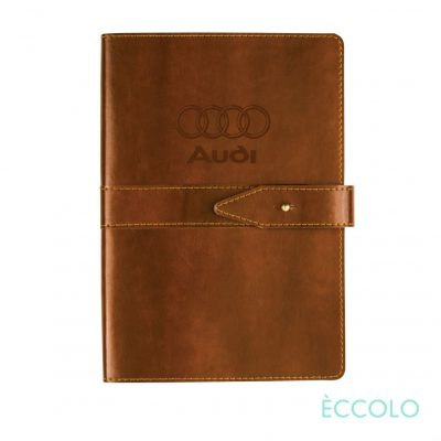 "Eccolo® Legend Journal - (M) 5½""x8¼"" Brown"