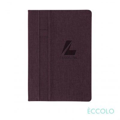 "Eccolo® Lyric Journal - (M) 5¾""x8¼"" Burgundy"