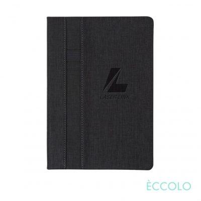 "Eccolo® Lyric Journal - (M) 5¾""x8¼"" Charcoal"