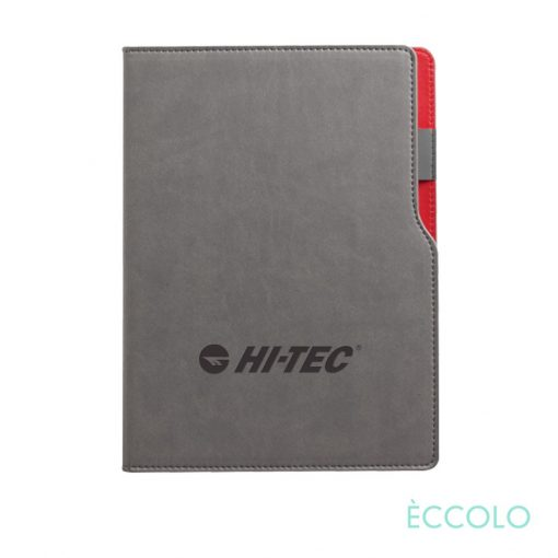 "Eccolo® Mambo Journal - (M) 6""x8¼"" Red"