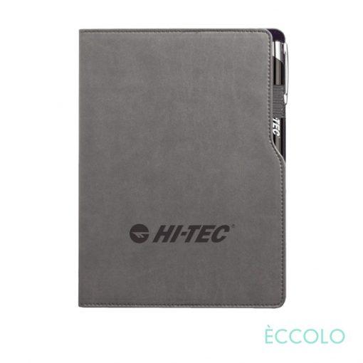 Eccolo® Mambo Journal/Clicker Pen - (M) Black
