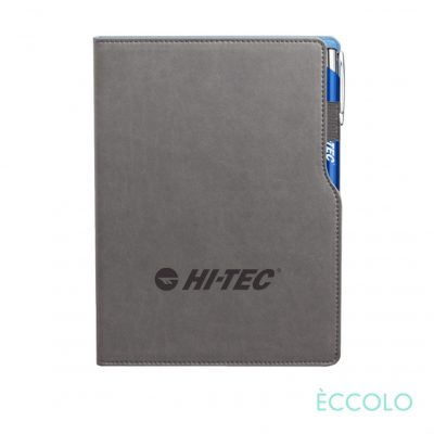 Eccolo® Mambo Journal/Clicker Pen - (M) Blue