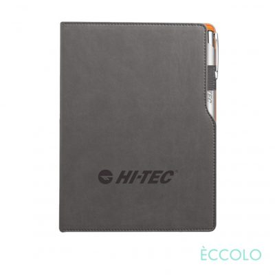 Eccolo® Mambo Journal/Clicker Pen - (M) Orange