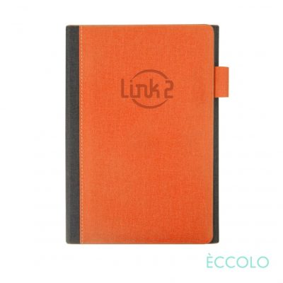 "Eccolo® Nashville Journal - (M) 6""x8"" Orange"