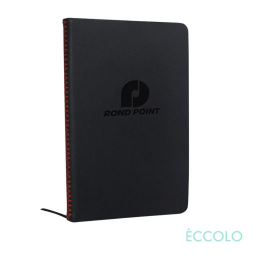 """Eccolo® New Wave Journal - (M) 5¾""""x8¼"""" Red"""