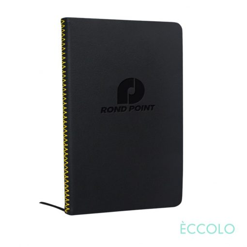 """Eccolo® New Wave Journal - (M) 5¾""""x8¼"""" Yellow"""
