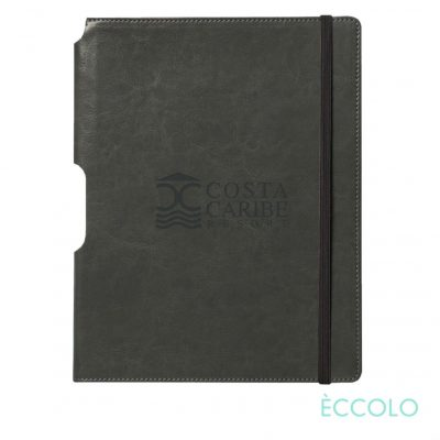 "Eccolo® Rhythm Journal - (L) 7""x9¾"" Gray"