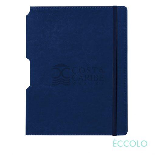 """Eccolo® Rhythm Journal - (L) 7""""x9¾"""" Navy Blue"""