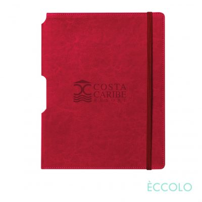 "Eccolo® Rhythm Journal - (M) 5¾""x8¼"" Red"
