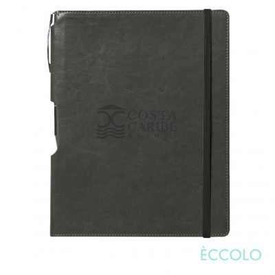 Eccolo® Rhythm Journal/Clicker Pen - (L) Gray