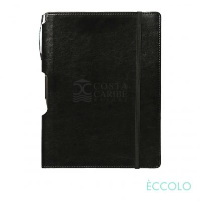 Eccolo® Rhythm Journal/Clicker Pen - (M) Black