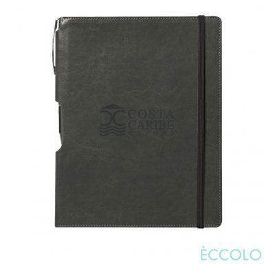 Eccolo® Rhythm Journal/Clicker Pen - (M) Gray