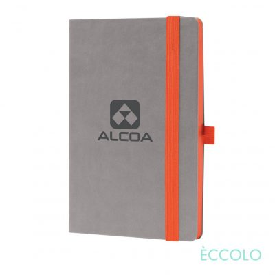 "Eccolo® Salsa Journal - (M) 5½""x8½"" Orange"