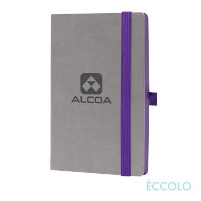 """Eccolo® Salsa Journal - (M) 5½""""x8½"""" Purple"""