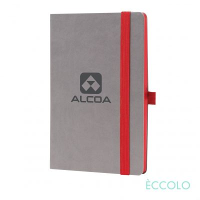 "Eccolo® Salsa Journal - (M) 5½""x8½"" Red"
