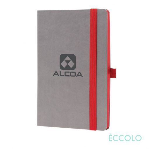 "Eccolo® Salsa Journal - (M) 5½""x8½"" Red"