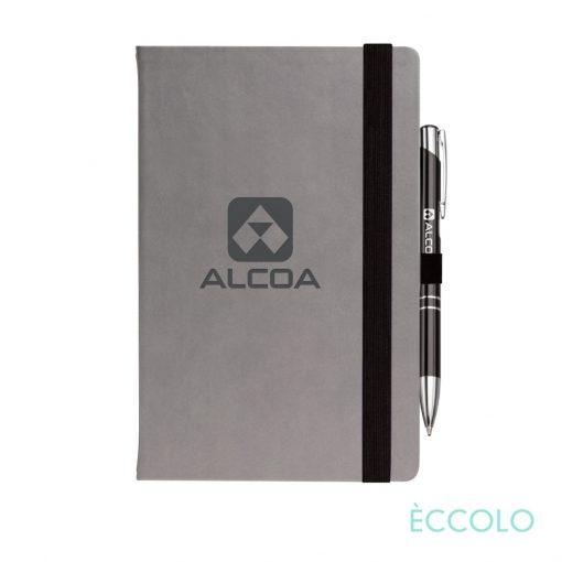 Eccolo® Salsa Journal/Clicker Pen - (M) Black