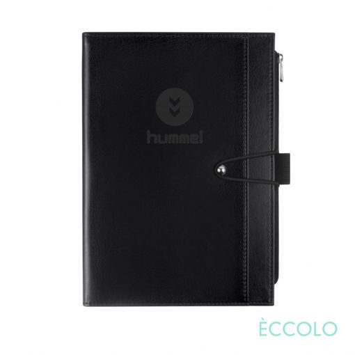 "Eccolo® Slide Journal - (M) 6""x8"" Black"