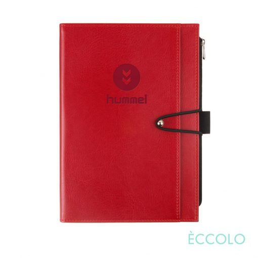 """Eccolo® Slide Journal - (M) 6""""x8"""" Red"""