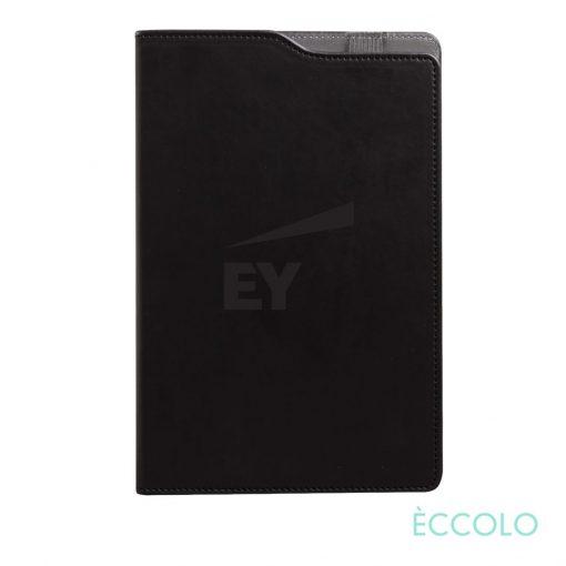 """Eccolo® Soca Journal - (M) 5¾""""x8-5/8"""" Black"""