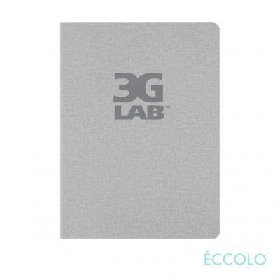 """Eccolo® Solo Journal - (M) 6""""x8"""" Gray"""