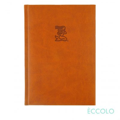 "Eccolo® Symphony Journal - (L) 7""x9¾"" Orange"