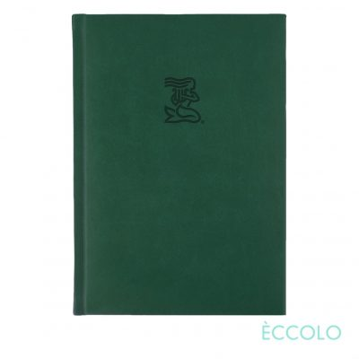 "Eccolo® Symphony Journal - (M) 5¾""x8¼"" Green"