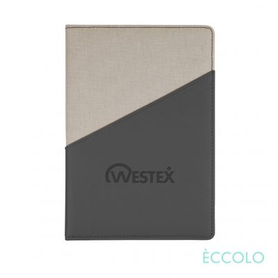 "Eccolo® Tango Journal - (M) 6""x8"" Charcoal"