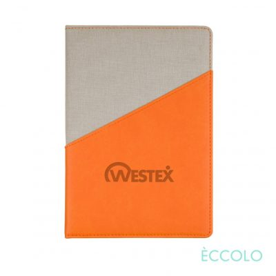 "Eccolo® Tango Journal - (M) 6""x8"" Orange"