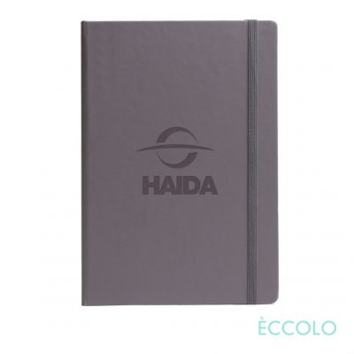 "Eccolo® Techno Journal - (M) 5½""x8¼"" Gray"
