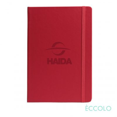 "Eccolo® Techno Journal - (M) 5½""x8¼"" Red"