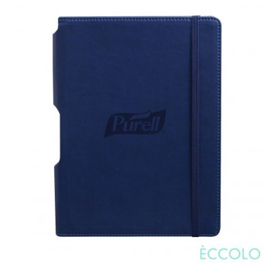 "Eccolo® Tempo Journal - (M) 5¾""x8¼"" Navy Blue"